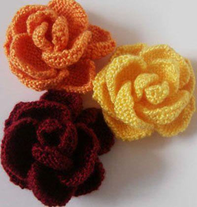 19 Best Flowers Images On Pinterest Crocheted Flowers Knit