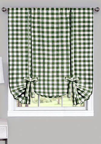 Buffalo Check Window Curtain Valance Curtains Valance Valance