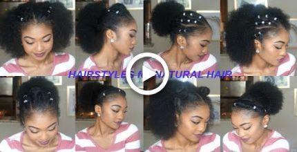 Mehr Schnell Einfach Frisuren Fur Kurz Mittel Lang Naturliches Haar Teil 3 Disisreyrey Disisreyrey Einfach Fr Relaxed Hair Naturliches Haar Haare