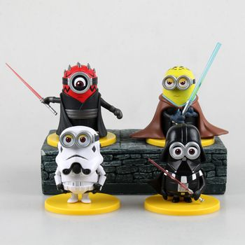 Star Wars Minions For The Top Of The Banana Cake 24 51 Order By 9