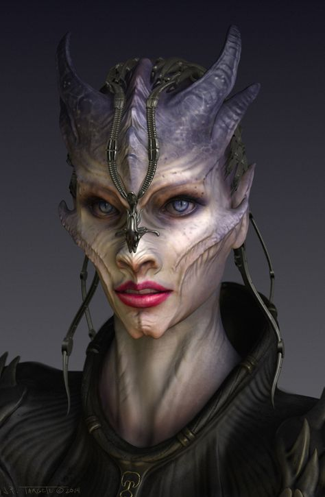 Unleash your creativity you may find your humanity by TARGETEdeviantartcom on deviantART Plus - Alien Photos Fantasy Make Up, 3d Fantasy, Fantasy Queen, Dark Fantasy, Fantasy Demon, Demon Art, Fantasy Monster, Makeup Fx, Zombie Makeup