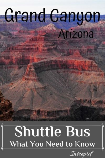Grand Canyon Shuttle Bus In 2019 Grand Canyon Village