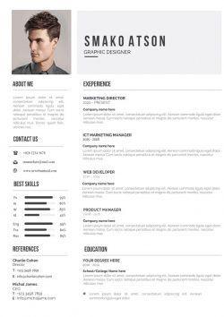 Exemple De Cv Original A Telecharger Au Format Word Mycvstore Job Application Editable Resume Resume