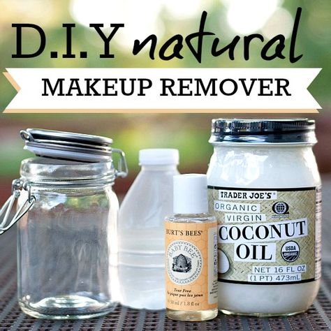 We all know one of the most important things in maintaining healthy skin is to take off our makeup before bed at night. But, most makeup removers are completely full of chemicals, and sometimes using just face wash and water doesn't quite do the trick. So, what can you do? Make yo