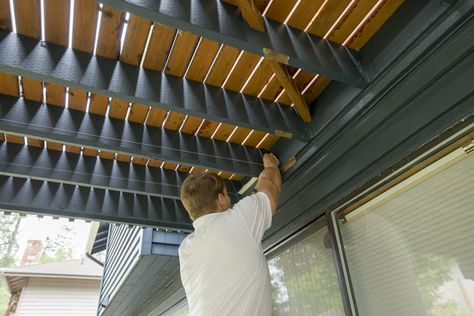 If You Have A Second Story Deck An Under Deck Ceiling Is The Least Expensive Way To Put A Roof Over The Lower Building A Deck Outdoor Living Deck Under Decks