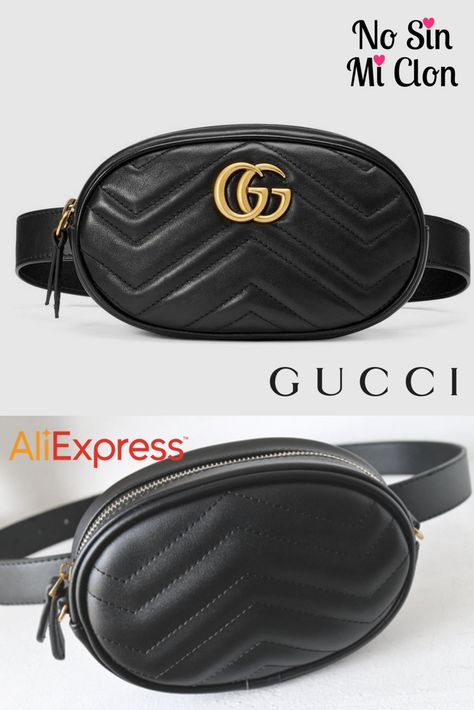 208a3805e306 Riñonera Gucci vs. Clon AliExpress   Gucci Belt Bag vs. Aliexpress Clone   bag  gucci  aliexpress  beltbag
