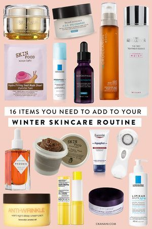 16 Skincare Items You Need To Add To Your Winter Routine Winter Skin Care Winter Skin Care Routine Dehydrated Skin