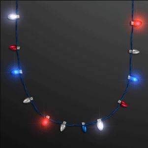 Mini Bulbs Red White Blue Led Necklace Pack Of 12 Bulb Red And White Led Light Bulb
