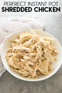 Instant Pot Shredded Chicken - The Salty Marshmallow