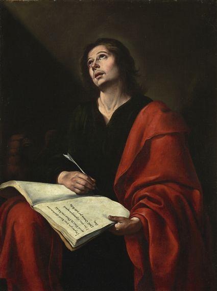 Bartolome Esteban Murillo Saint John The Evangelist Oil On Canvas