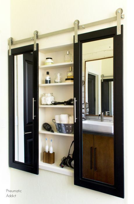 How To Build And Install An Extra Large Custom Medicine Cabinet