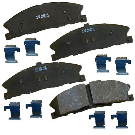 BREMBO Premium Ceramic Disc Brake Pads Set FRONT P65021N with 368mm Rotors