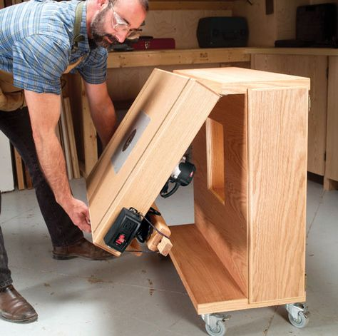 Mobile Router Center - The Woodworker's Shop - American Woodworker