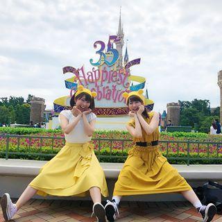 おびちゃんと35周年の東京ディズニーランドに行ってきました