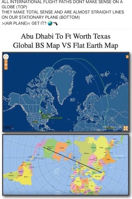 This is a Polar map projection Itu0027s a systematic transformation of - best of simple world map flat