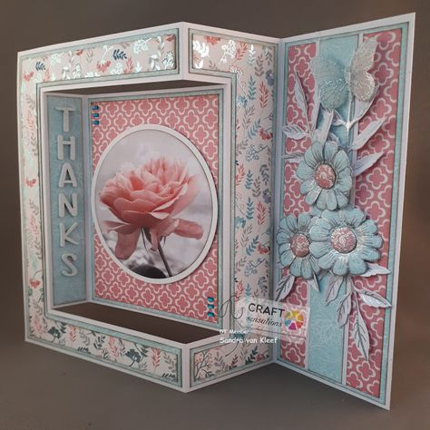 My Creations: side panel fold card