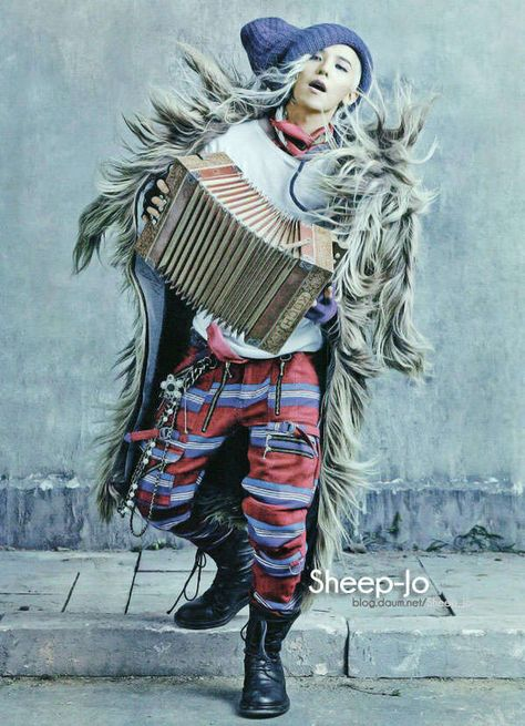 Grungy Hobo Chic Fashion - Vogue Korea's 'Street to Street' Showcases Haute Bohemian Couture (GALLERY)