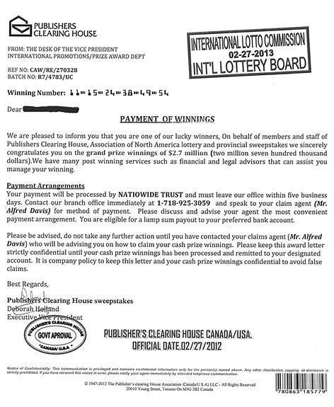 Image Result For Pch Publishers Clearing House Claim Ownership Of This Document Publishers Clearing House House Letters Sweepstakes