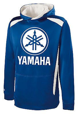 YAMAHA HOODIE RED Hooded Sweatshirt Racing Motocross  ATV Logo