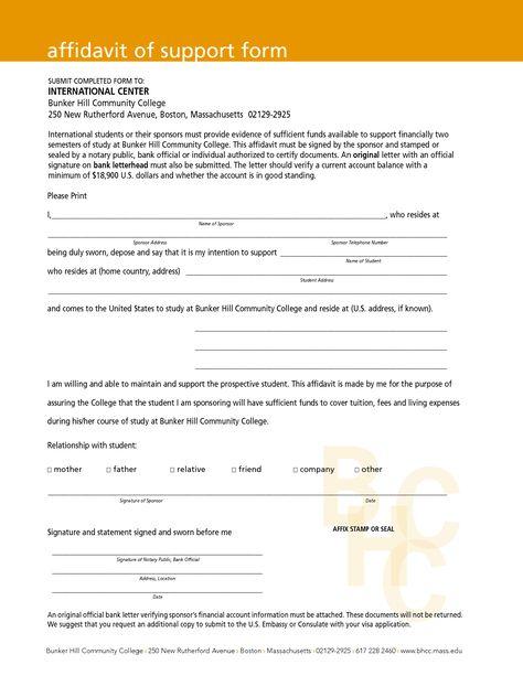 Affidavit Letter Sample Bagnas - affidavit of support sample - athlete sponsorship contract template