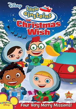 Little Einsteins The Christmas Wish Dvd Einsteins Christmas Dvd Little Einsteins Christmas Wishes A Christmas Story