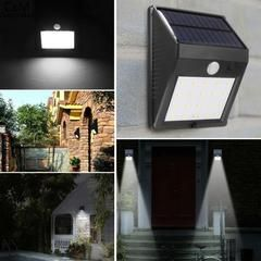 32 92 20 Led Solar Sun Lamp Motion Sensor Wall Mounted Outdoor