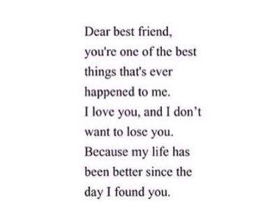 Dear Best Friend Tumblr Dear Best Friend Friends Quotes Friend Birthday Quotes