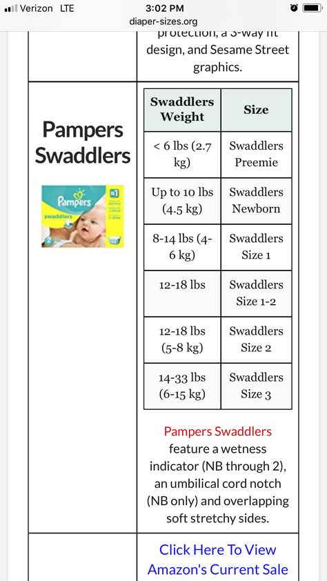Pampers Size Chart Part 3 Pampers Size Chart Pampers Swaddlers
