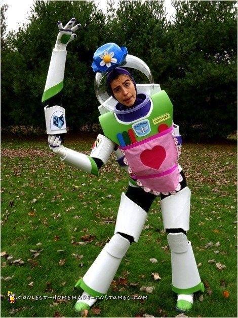 Coolest Homemade Mrs Nesbitt Buzz Lightyear Costume Cool Halloween Costumes Buzz Lightyear Costume Buzz Lightyear Halloween Costume