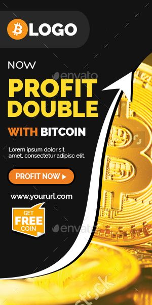 Cryptocurrency Banners Ads | Banners & Ads | Banner ad sizes