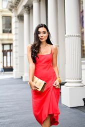 A Silky Red Dress | Dress To Impress - With Love From Kat  A Silky Red Dress under $100    This image has get 5 repins.    Author: With Love From Kat #Dress #Impress #Kat #Love #Red #Silky