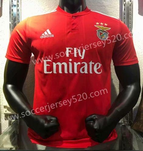 cheaper d97a6 8c6d5 2018-19 Benfica Home Red Thailand Soccer Jersey AAA | Soccer ...