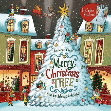 Merry Christmas Tree Pop Up Advent Calendar Books For Family Holiday Games Christmas Tree Advent Calendar Walmart Com In 2020 Christmas Tree Advent Calendar Christmas Trees Uk Christmas