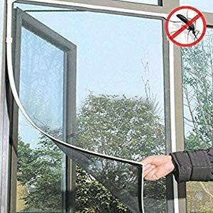 130 Cm X 150 Cm Magnetic Fliegengitter Magnet Rahmen Insektenschutz Fenster Zuschneidbar Ohne Bohren Klebmontage In Window Mesh Window Mesh Screen Mesh Screen