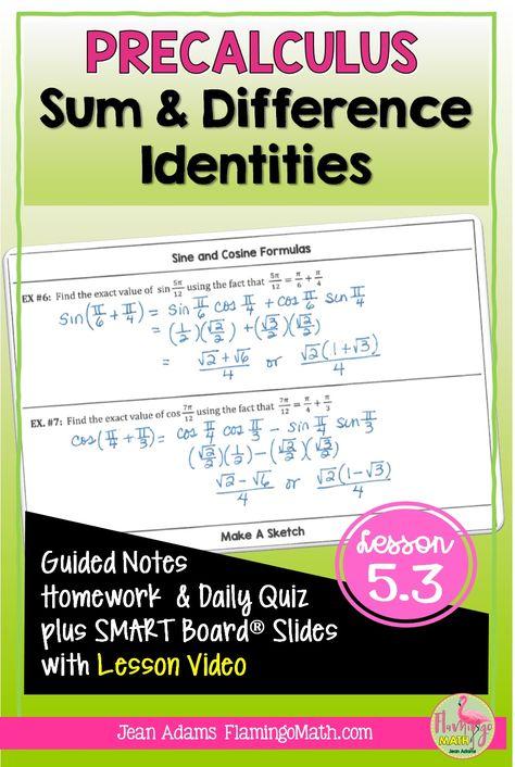 530 Teaching Precalculus Ideas In 2021 Precalculus Teaching High School Math