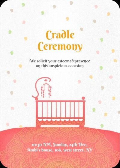 Naming ceremony invite for Baby Paavan Karthik Hi Pinterest - fresh invitation card samples baby 21st day ceremony
