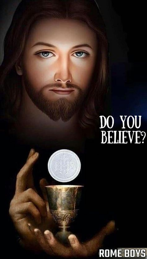 Do you believe? Only 30% of Catholics do. Share the truth of Jesus' real presence with others!