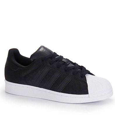 Tilaa ilman l�hetyskuluja adidas Originals SUPERSTAR RIZE - Matalavartiset  tennarit - core black/white/gold : 84,95 \u20ac (4.2.2016) Zalando.fi-verkkok\u2026