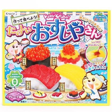 Kracie Popin Cookin Diy Candy Kit S 3 99 Topseller Japanese Candy Japanese Candy Kits Candy Sushi