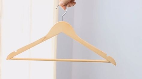 Never seen a table made of clothes hangers? Here they are! #table #hangersdiy ...,  #Clothes ...