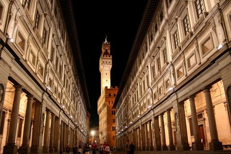 Uffizi Gallery, Florence Italy, one of my favorite places on Earth.