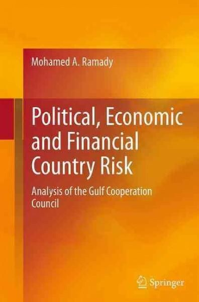 Political Economic And Financial Country Risk Analysis Of The