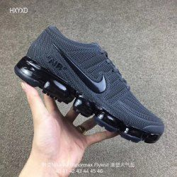 wholesale dealer 09197 b3423 Men's Nike Air Vapormax Flyknit Kpu Anthracite Gray Boys ...