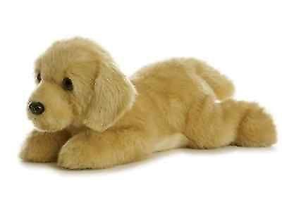 Aurora 158789 12 Inch Flopsie Goldie Golden Retriever Dog Plush
