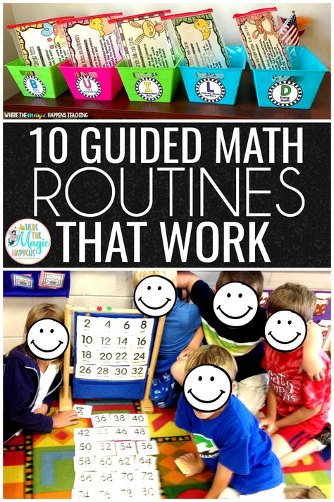 Guided Math Workshop Routines that Work