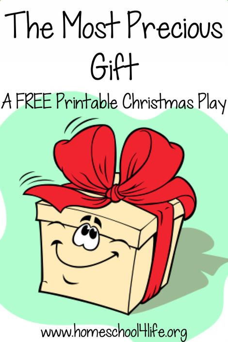Free Printable Christmas Plays Church.The Most Precious Gift A Free Christmas Play Kids Church