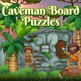لعبة ألغاز الكهف Caveman Board Puzzles Caveman Play Grinch