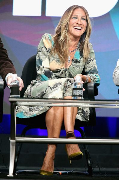 Sarah Jessica Parker speaks onstage during the 'Divorce' panel discussion at the HBO portion of the 2016 Television Critics Association Summer Tour.