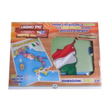 Puzzle Mappa dell'Italia