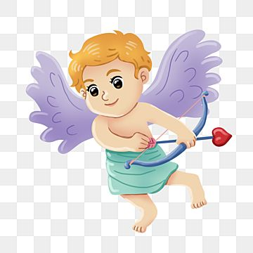 Cupid With Love Bow For Valentine Angel Cute Red Png Transparent Clipart Image And Psd File For Free Download Valentine Font Valentines Art Cupid